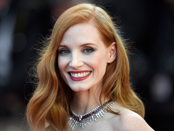 """Jessica Chastain「""""Ismael's Ghosts (Les Fantomes d'Ismael)"""" & Opening Gala Red Carpet Arrivals - The 70th Annual Cannes Film Festival」:写真・画像(18)[壁紙.com]"""