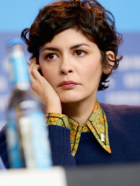 Audrey Tautou「International Jury Press Conference - 65th Berlinale International Film Festival」:写真・画像(6)[壁紙.com]