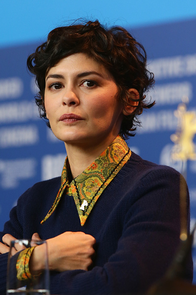 Audrey Tautou「International Jury Press Conference - 65th Berlinale International Film Festival」:写真・画像(8)[壁紙.com]