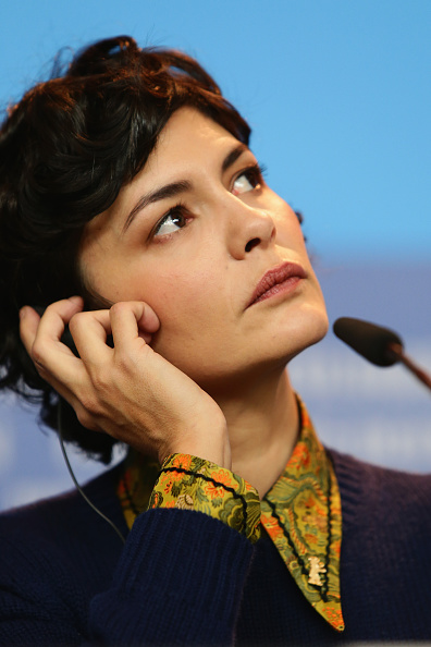 Audrey Tautou「International Jury Press Conference - 65th Berlinale International Film Festival」:写真・画像(5)[壁紙.com]