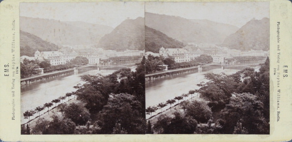 Health Spa「Bad Ems At The Rhine. The Spa. 1888. Stereo Photograph By Sophus Williams / Berlin.」:写真・画像(12)[壁紙.com]