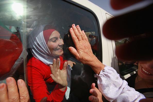 West Bank「Israel Swaps Palestinian Prisoners For Gilad Shalit Tape」:写真・画像(18)[壁紙.com]