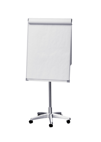 Flipchart「Flip chart (clipping path), isolated on white background」:スマホ壁紙(14)