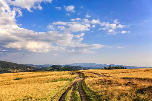 美しさ「トランシルバニアの Apuseni 山脈のパッドで風景を見る」:スマホ壁紙(5)