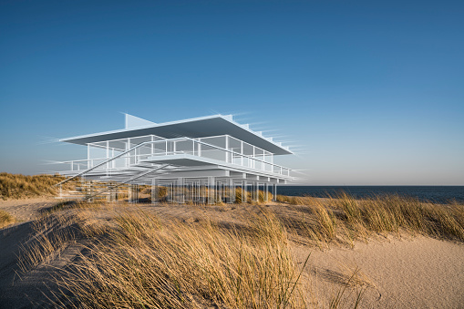 Imagination「Dream house on the beach」:スマホ壁紙(16)