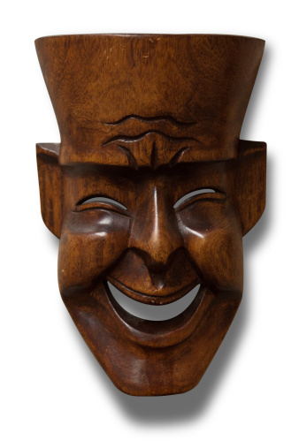 Smirking「Carved Wooden Mask」:スマホ壁紙(8)