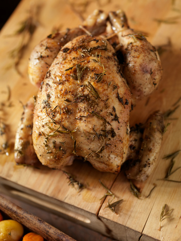Chicken Wing「Roasted Chicken with Fresh Thyme」:スマホ壁紙(4)