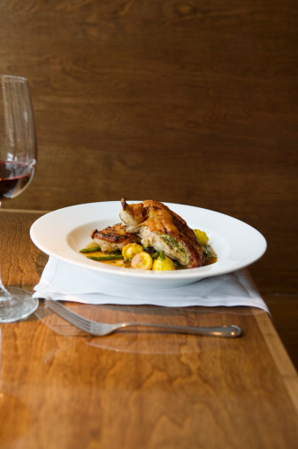 Bush Bean「Roasted chicken breast with baby squash and beans」:スマホ壁紙(16)