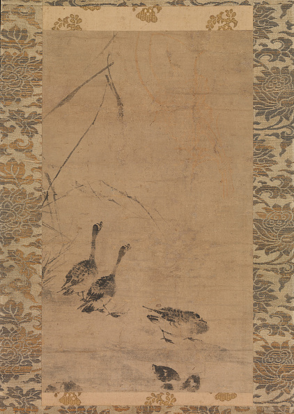 Circa 14th Century「Geese And Reeds」:写真・画像(0)[壁紙.com]