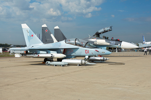 Russian Military「Attack version of the Yak-130 Mitten aircraft.」:スマホ壁紙(18)