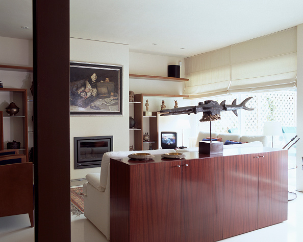 Dining Room「View of a well furnished living room」:写真・画像(1)[壁紙.com]