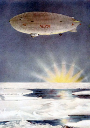 Airship「Raold Amundsen's airship Norge over North Pole」:スマホ壁紙(19)