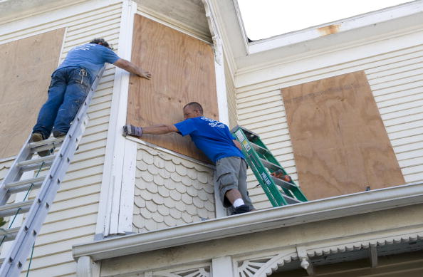 Preparation「Texas Gulf Coast Prepares For Hurricane Ike」:写真・画像(1)[壁紙.com]