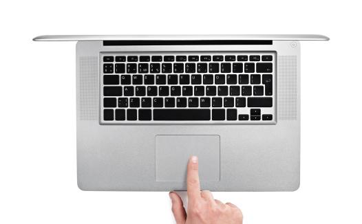 Typing「Using laptop」:スマホ壁紙(3)