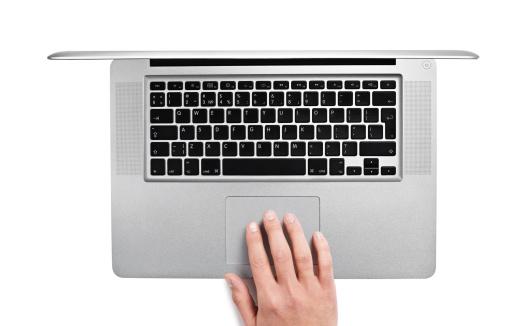 Typing「Using laptop」:スマホ壁紙(13)