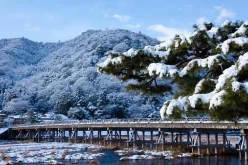Arashiyama「Snowfall in Kyko, Arashiyama」:スマホ壁紙(9)