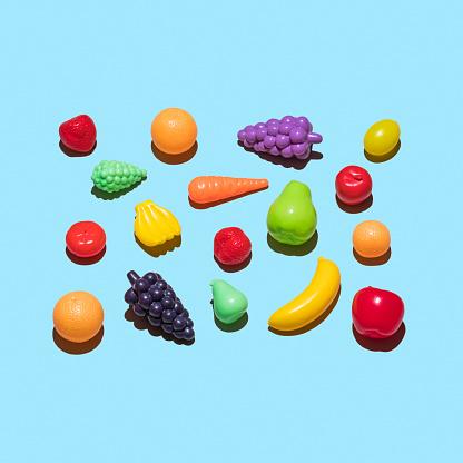 Vegetarian Food「Plastic fruit and vegetable」:スマホ壁紙(14)