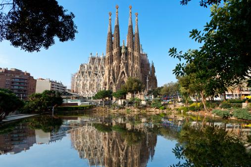 Barcelona - Spain「Barcelona, Sagrada Familia」:スマホ壁紙(18)