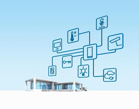 Home Automation「Smart home」:スマホ壁紙(7)