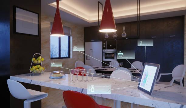 Smart Home Control  In Kitchen:スマホ壁紙(壁紙.com)