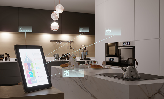 Intelligence「Smart Home Control In Kitchen」:スマホ壁紙(5)