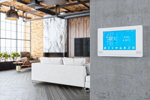 Internet of Things「Smart Home Living Room」:スマホ壁紙(13)
