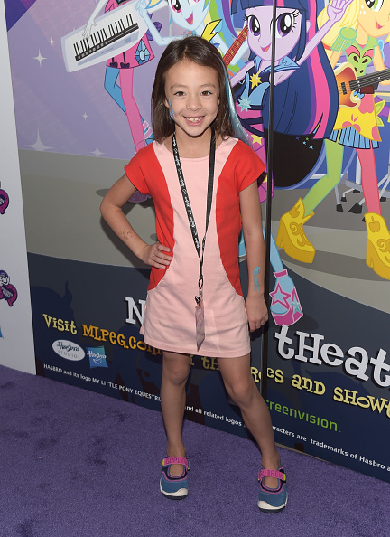 Small「Hasbro Studios Present The Purple Carpet Premiere Of My Little Pony Equestria Girls Rainbow Rocks」:写真・画像(6)[壁紙.com]