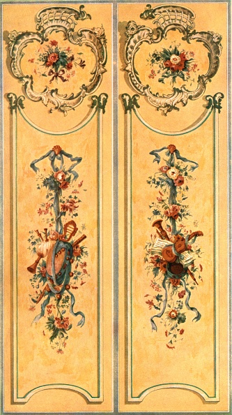 Ornate「Painted Decoration In The New Palace」:写真・画像(18)[壁紙.com]