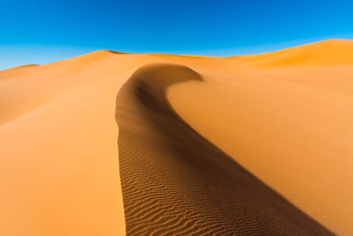 Rippled「Desert dunes, Sahara desert, Libya」:スマホ壁紙(9)