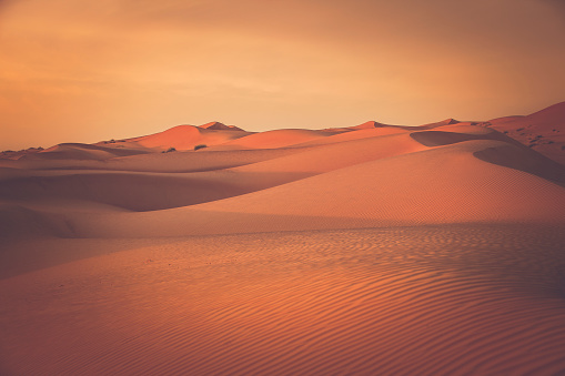 Oman「desert dunes at wahiba sands in oman」:スマホ壁紙(18)