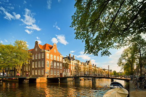 オランダ「アムステルダム」:スマホ壁紙(1)