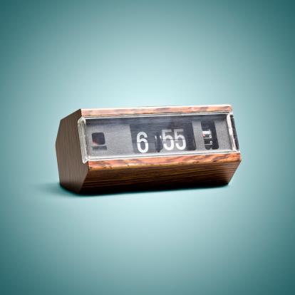 Square「Digital flip clock. Time Vintage Style Art Background」:スマホ壁紙(11)