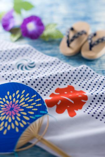 朝顔「Summer Festival」:スマホ壁紙(9)