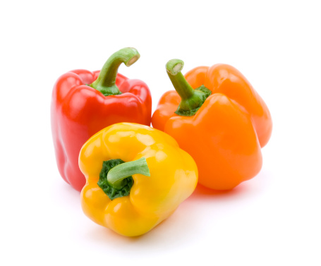 Bell Pepper「Red, yellow, and orange bell peppers」:スマホ壁紙(6)