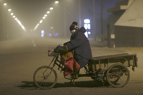 Environmental Damage「Beijing Again Engulfed In Heavy Smog」:写真・画像(6)[壁紙.com]