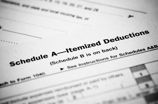 Tax Form「Schedule A Income Tax Form」:スマホ壁紙(17)