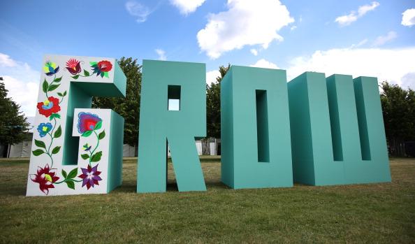 成長「Final Preparations Are Made For The Hampton Court Palace Flower Show」:写真・画像(0)[壁紙.com]