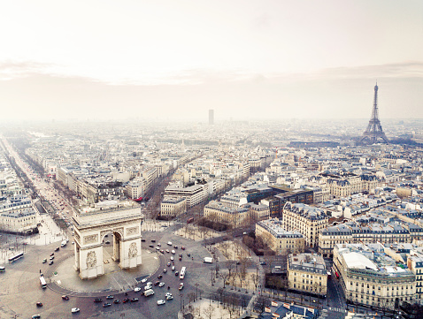 Arc de Triomphe - Paris「Arch de triomphe」:スマホ壁紙(6)