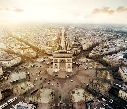 Arc de Triomphe - Paris「Arch de triomphe」:スマホ壁紙(7)