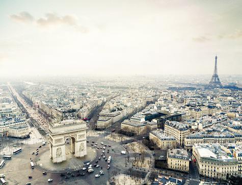 Arc de Triomphe - Paris「Arch de triomphe」:スマホ壁紙(3)