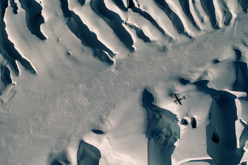 Westland - South Island New Zealand「Airplane over Franz Josef Glacier」:スマホ壁紙(18)
