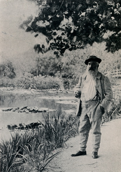 Portrait「'Claude Monet, Giverny', 1905」:写真・画像(14)[壁紙.com]