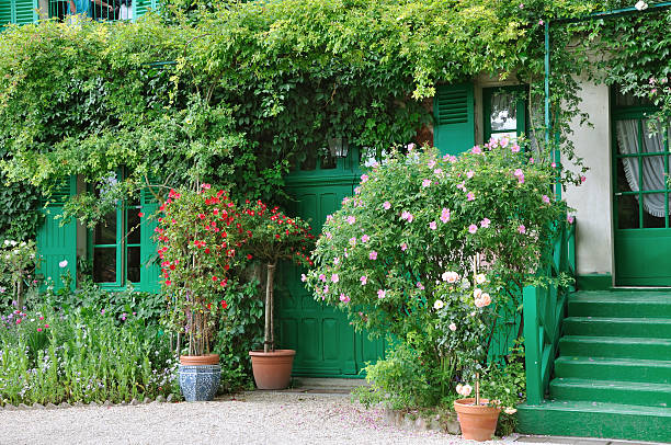 Claude Monet's home in Giverny:スマホ壁紙(壁紙.com)