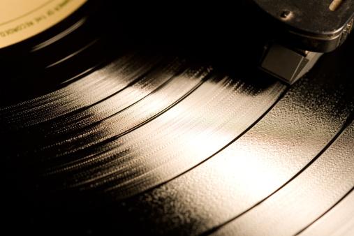Record - Analog Audio「Record playing」:スマホ壁紙(6)