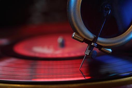 Record - Analog Audio「Record player needle, vinyl」:スマホ壁紙(1)