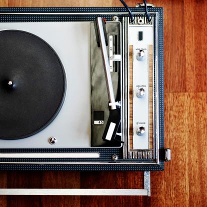 Rock Music「Record player」:スマホ壁紙(1)