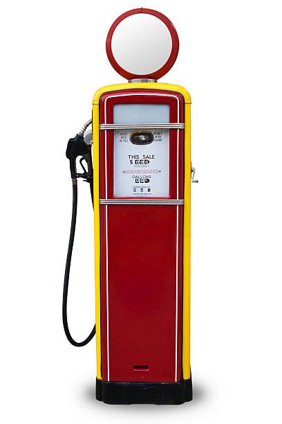 50s Style Red Gas Pump:スマホ壁紙(壁紙.com)