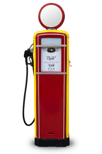 Fossil Fuel「50s Style Red Gas Pump」:スマホ壁紙(15)