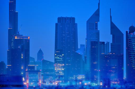 LypseUAE2015「Dubai blue hour」:スマホ壁紙(18)