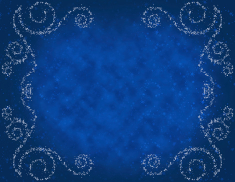 Royal Blue「Magical Winters Night Background Copy Space」:スマホ壁紙(3)